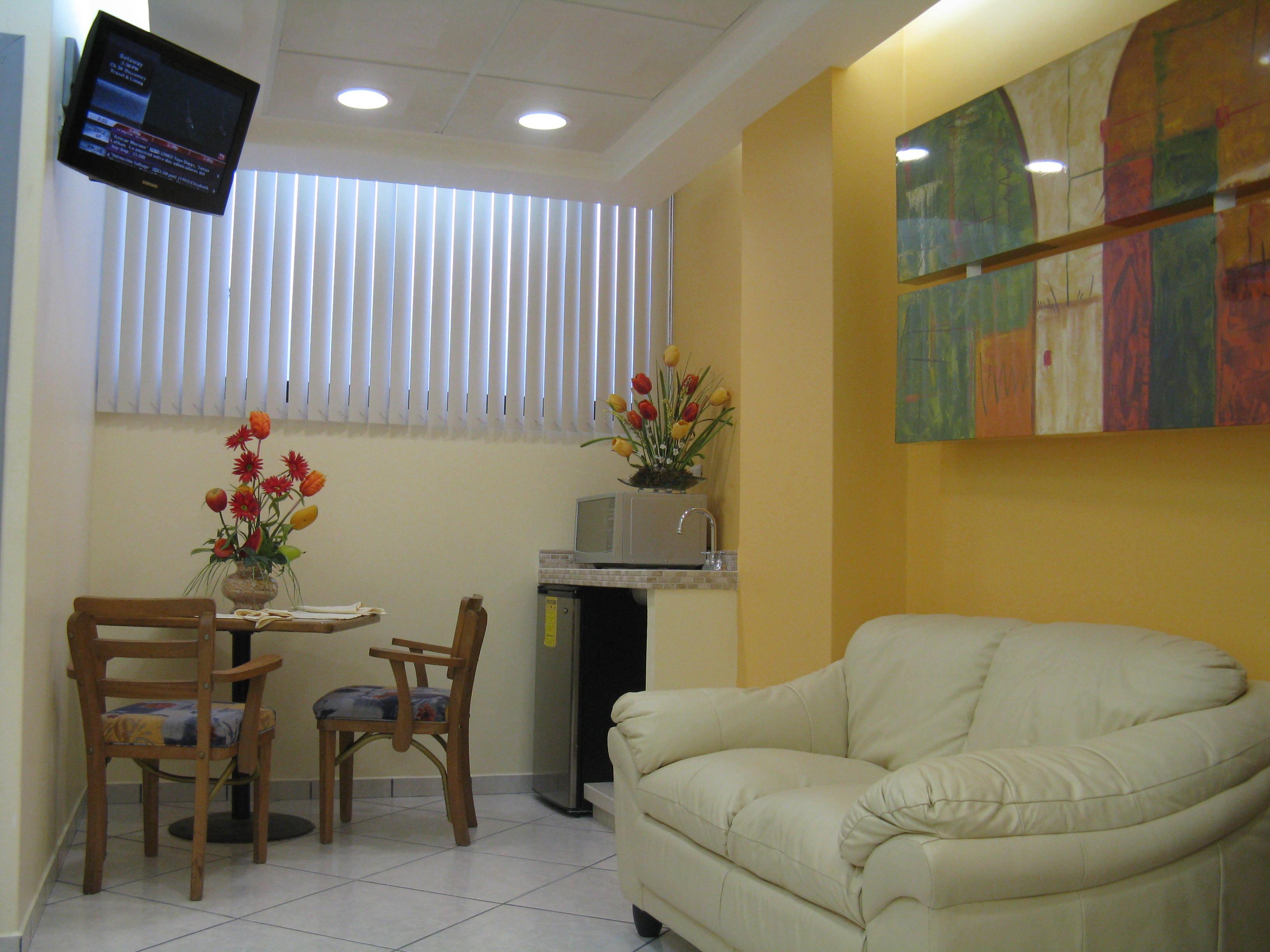 Las Suites cuentan con amplios espacios para los familiares y visitantes